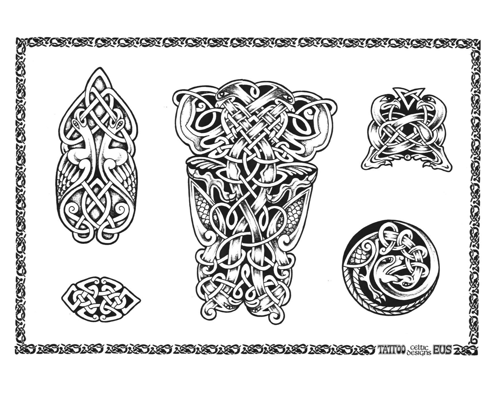 Celtic Tattoo Designs 0571