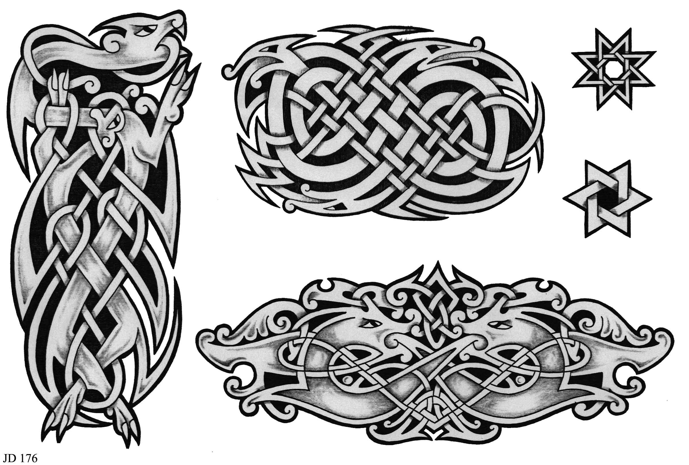 Кельтский узор рисунок