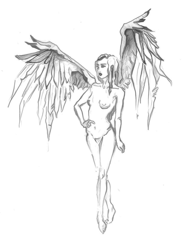 Angel tattoo designs 133