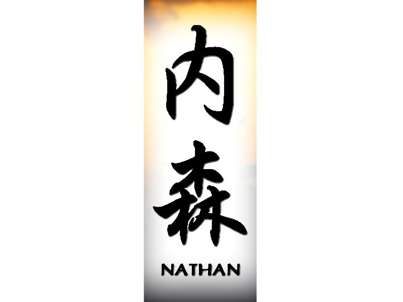 nathan tattoo n chinese names home tattoo designs. Black Bedroom Furniture Sets. Home Design Ideas