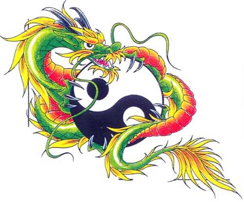 chinese zodiac dragon02 chinese zodiac home tattoo designs. Black Bedroom Furniture Sets. Home Design Ideas