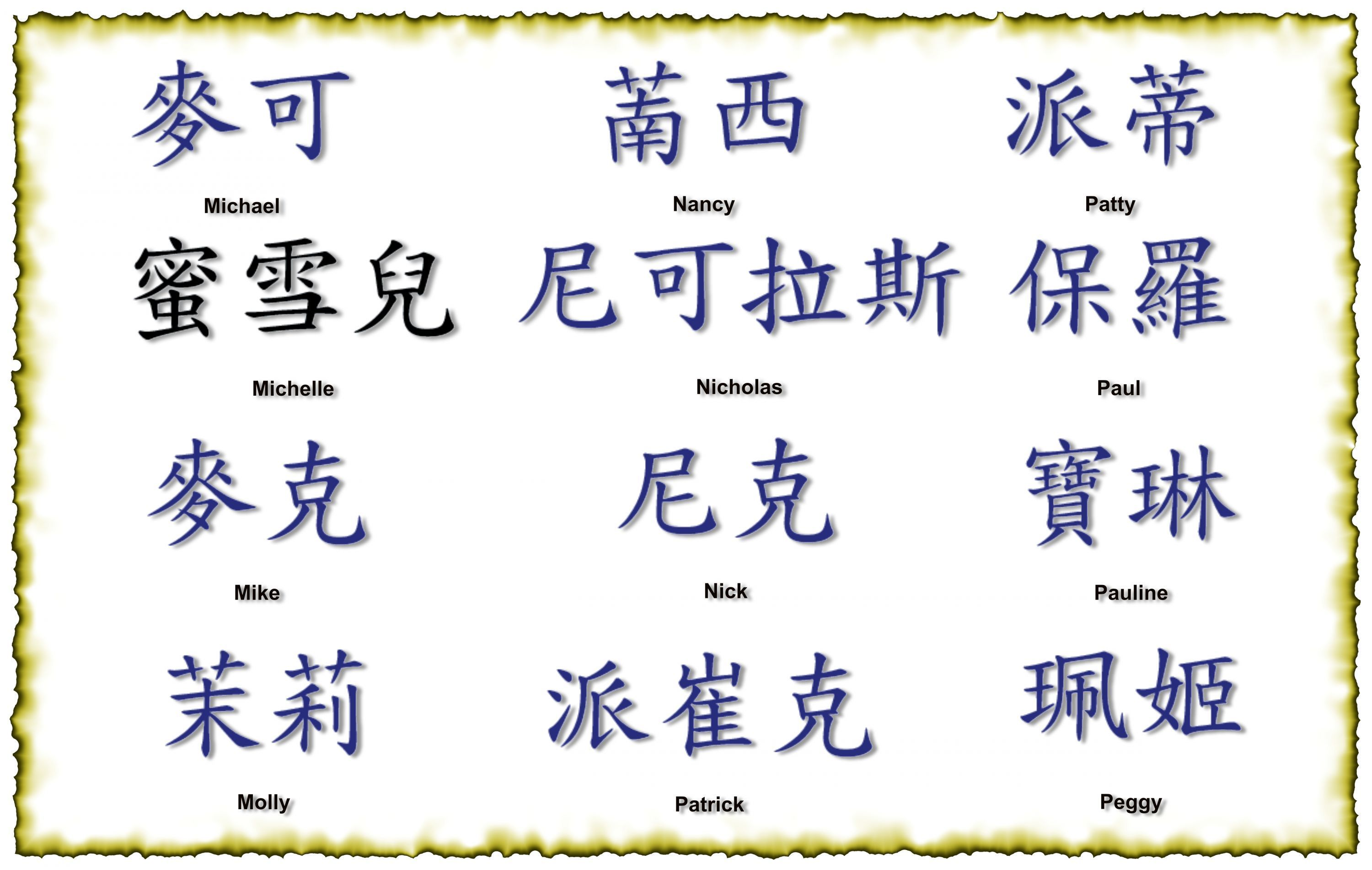 Chinese symbols tattoos have been very popular in the