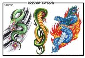 Bodyart Tattoos Ba0038
