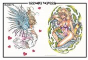 Bodyart Tattoos Ba0079