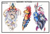 Bodyart Tattoos Ba0100