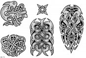 Celtic Tattoo Designs Sheet 175