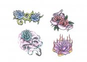 Flower Tattoo Designs 77