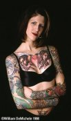 Girls With Tattoo  18